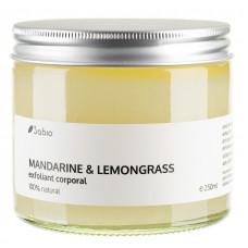 Exfoliant corporal - mandarine & lemongrass