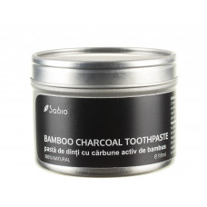 Pastă de dinți cu cărbune activ de bambus