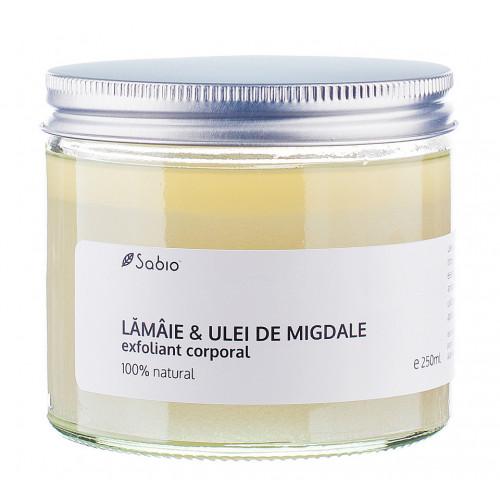 Exfoliant corporal - Lămâie & Ulei de migdale