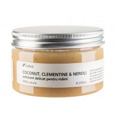 Exfoliant delicat pentru maini – COCONUT, CLEMENTINE & NEROLI