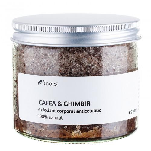 Exfoliant anticelulitic – cafea & ghimbir