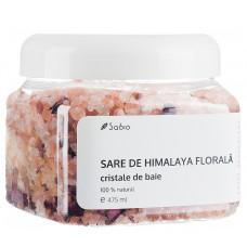 Sare de Himalaya florală - Cristale de baie 100% naturale