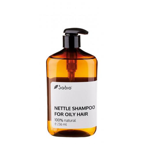 Şampon natural cu urzică pentru păr gras