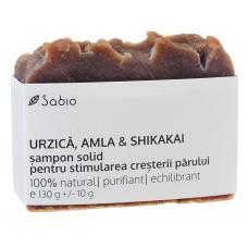 Şampon solid cu URZICĂ pentru stimularea creşterii părului