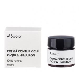 Cremă de ochi - cu acid hialuronic şi coenzima Q10