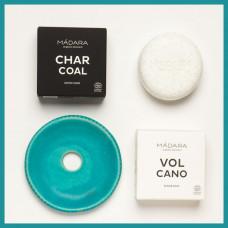 Savonieră Victoria Finală + 2 săpunuri Madara (Charcoal & Volcano)