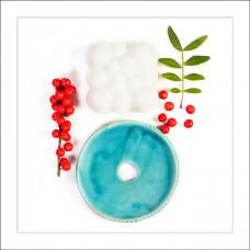 DUO săpun Jasmine Snowfall + savonieră ceramică