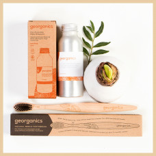 DUO zero waste – ORANGE ulei + periuță