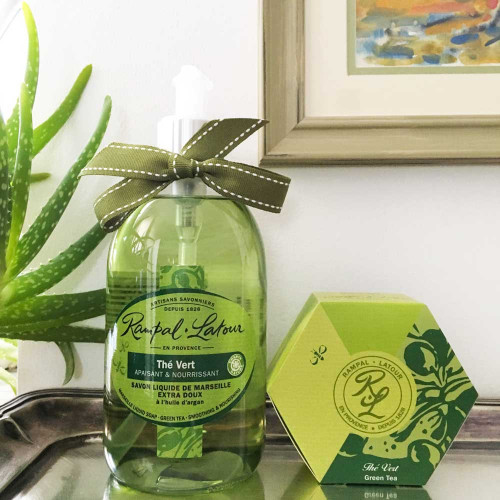 Frenchy: Cadou cu arome fresh de ceai verde