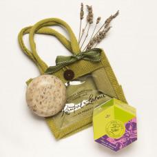 Frenchy: Set cadou săculeț cu săpun natural din Provence