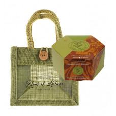 Set cadou săculeț cu săpun natural din Provence