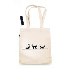 Sacoșa cu pisici & Balsam de buze natural