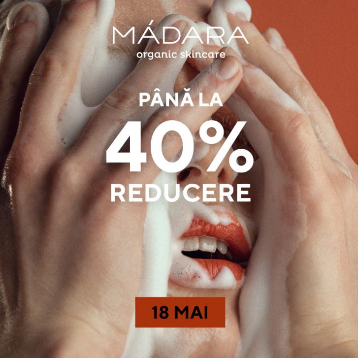 18 mai | 24h SALE MÁDARA SKINCARE & MAKEUP
