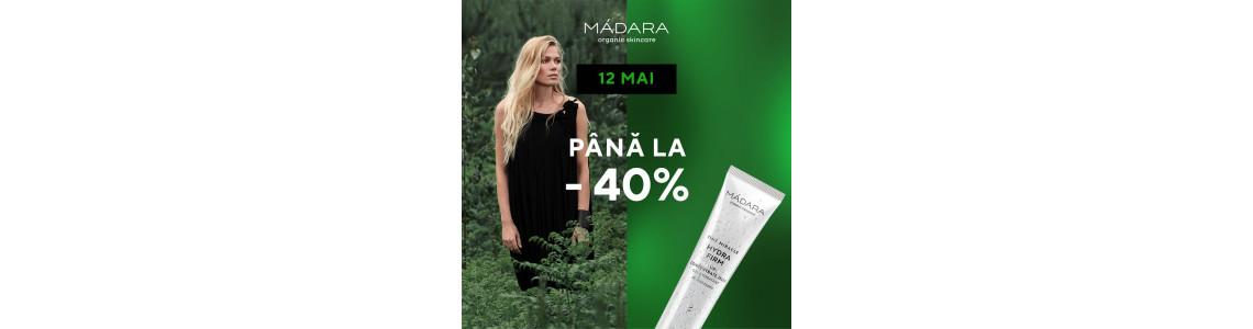 12 mai   24h  reduceri de până la 40% la MÁDARA SKINCARE & MAKEUP