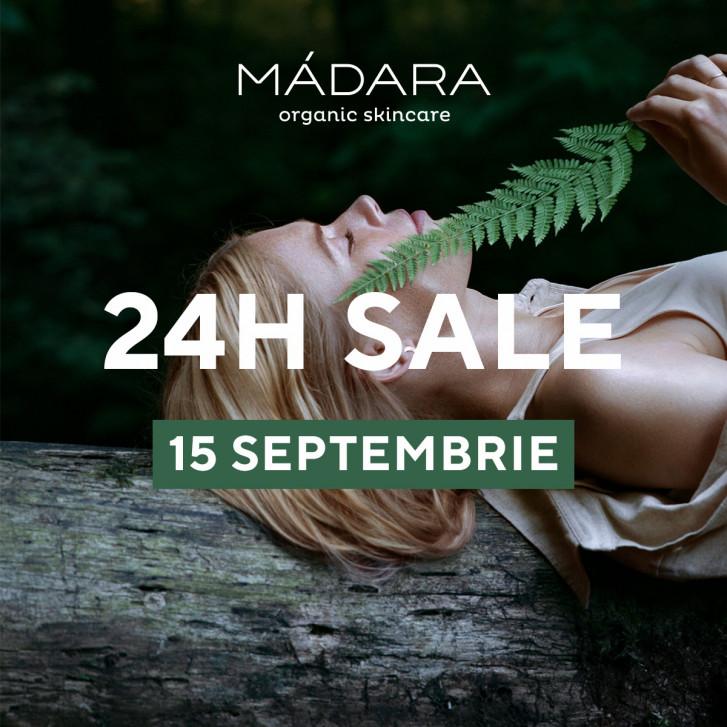15 septembrie | 24h | reduceri de până la 40% la MÁDARA SKINCARE & MAKEUP