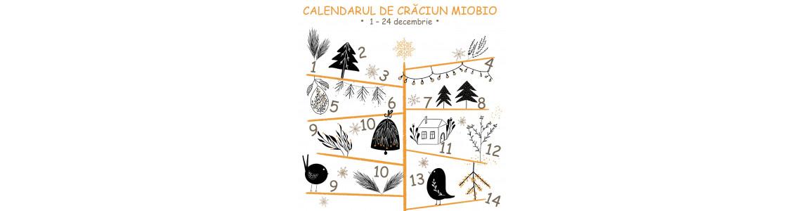 Vă așteaptă pregătit - calendarul de Crăciun MioBio - 24 zile pline cu cadouri și oferte speciale!