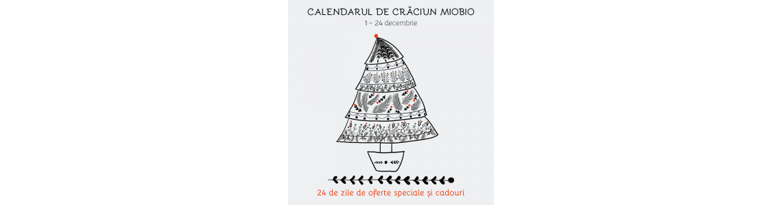 Pur și simplu, urmează calea trasată de către calendarul de Crăciun!