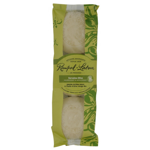 Pachet 3 săpunuri naturale verbină măslină