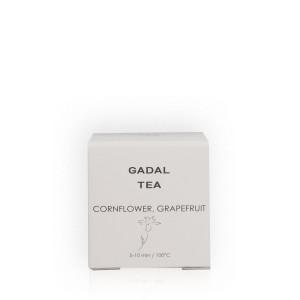 Ceai organic cu albăstrea și grapefruit (1 piramidă)