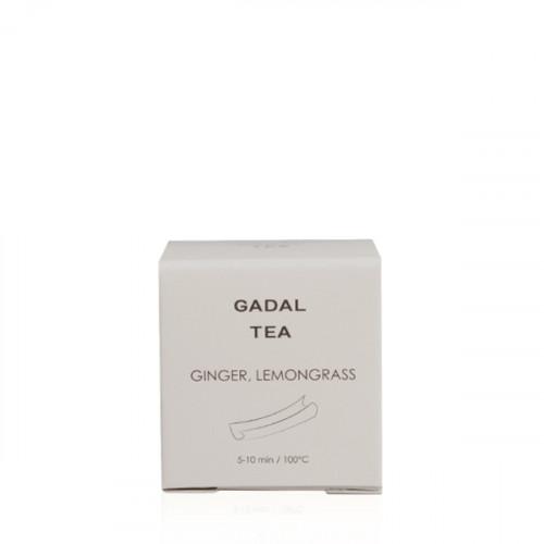 Ceai organic cu ghimbir și lemongrass (1 piramidă)