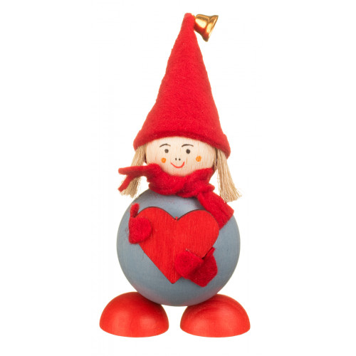 Elf din Laponia - Hertta cu inimioară roșie