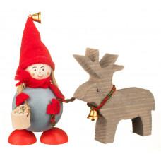 Elf din Laponia - Jonna cu ren