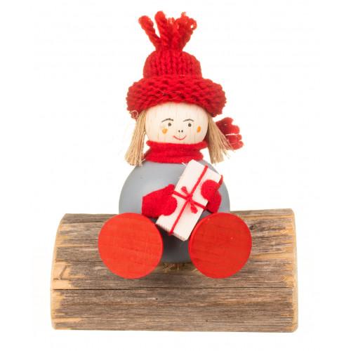 Elf din Laponia - Kaisa pe băncuță
