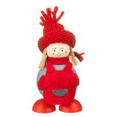 Elf din Laponia - Martta cu șorțuleț roșu