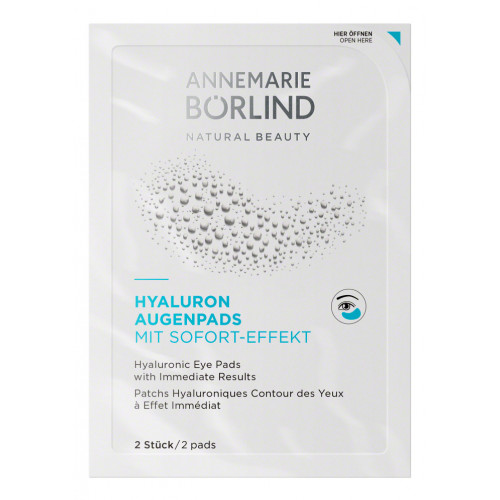 Pad-uri cu acid hialuronic pentru ochi - cu efect imediat