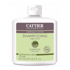 Sampon cu argila verde pentru scalp gras