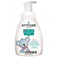 3în1 Şampon, balsam & gel de duş bio pentru copii