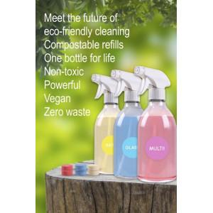 Tablete pentru curățare SUPRAFEȚE – zero plastic (refill 3 tablete)