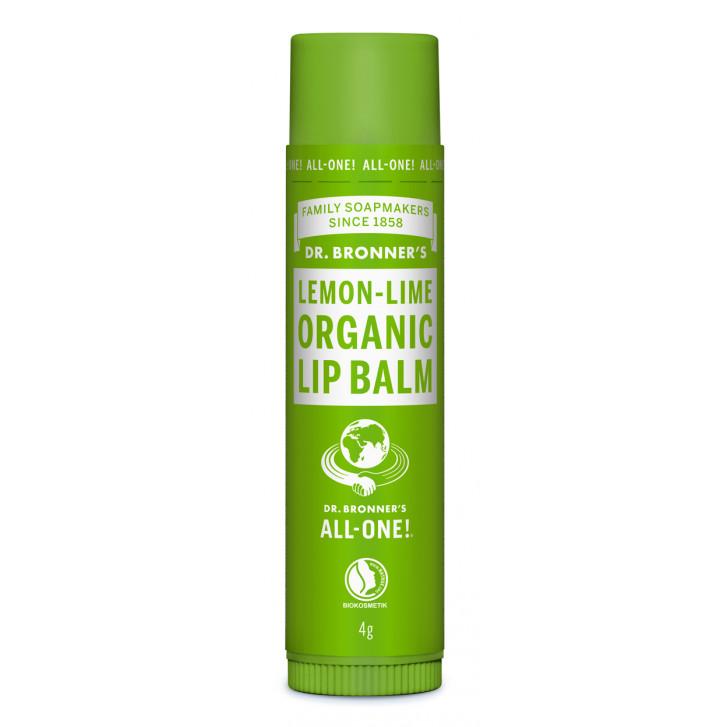 Balsam de buze organic Lemon Lime