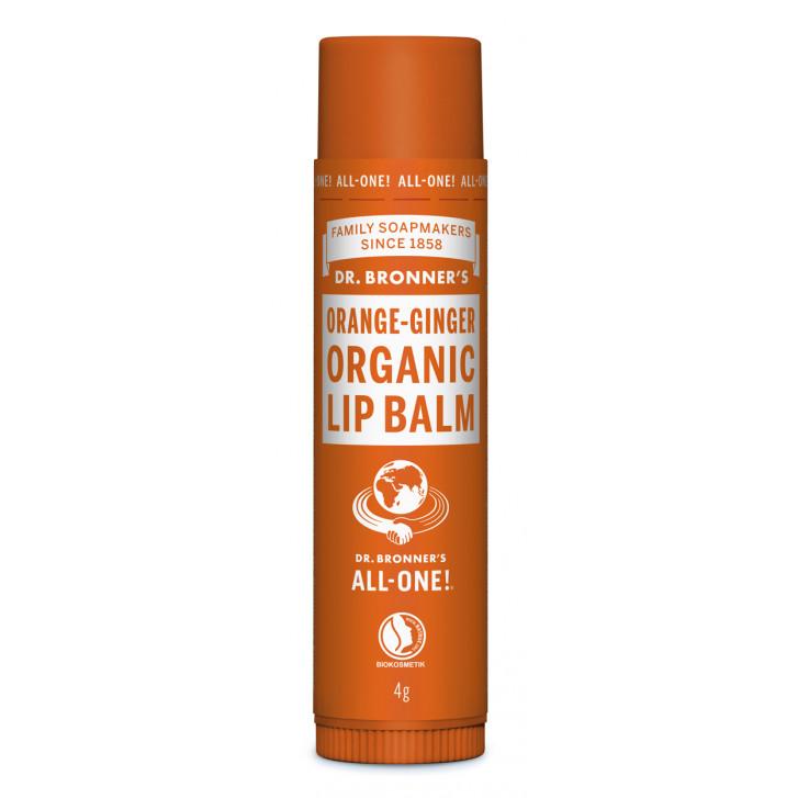 Balsam de buze organic Orange Ginger