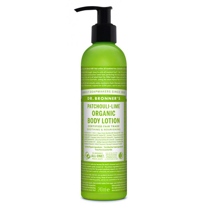 Lotiune de corp organica - Patchouli Lime