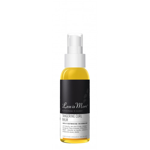 Leave-in Tangerine Curl Balm TRAVEL (păr normal)