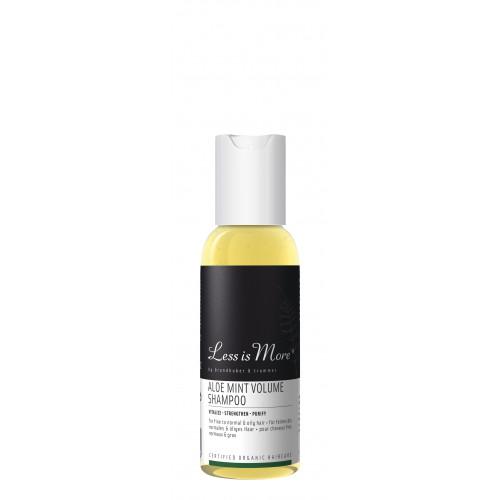 Aloe Mint Volume Shampoo TRAVEL (păr fin/normal, tendinţe îngrăşare)
