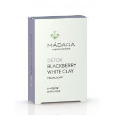 Săpun facial DETOX / mure & argilă albă