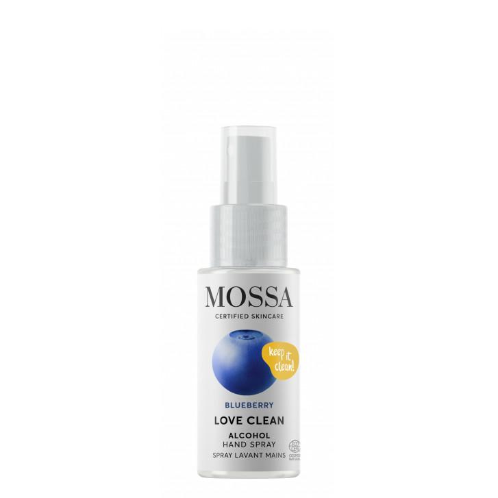 LOVE CLEAN Spray igienizant (70% alcool)