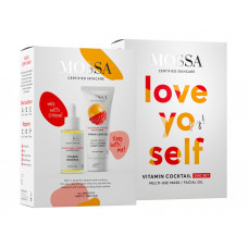 "VITAMIN COCKTAIL Duo Set ""LOVE YO SELF"" (Ulei facial + Cremă ""multi-use"")"