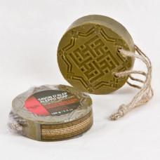 Sapun de Alep cu ambra si lemn de agar (oud)
