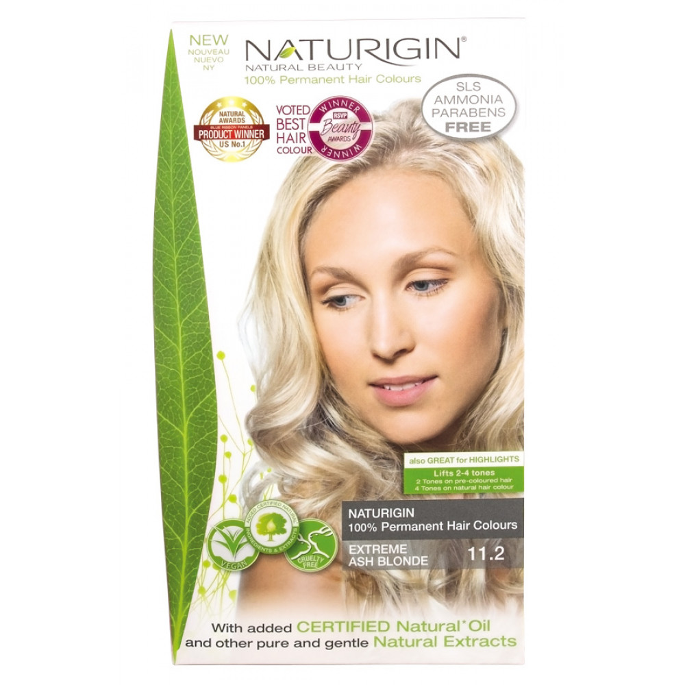 112 Blond Cenusiu Extreme Vopsea Naturala De Par