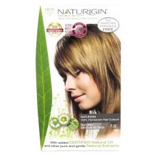 7.0 Blond mediu natural - Vopsea naturala de par