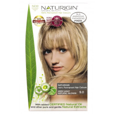 9.0 Blond natural deschis - Vopsea naturala de par