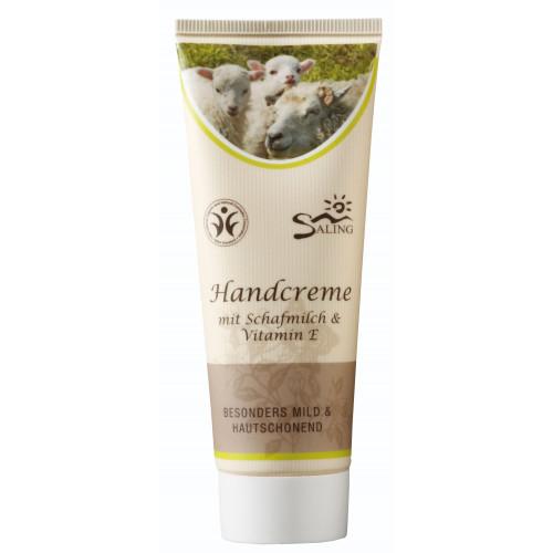 Cremă de mâini tratament (cu lapte de oaie și vitamina E)
