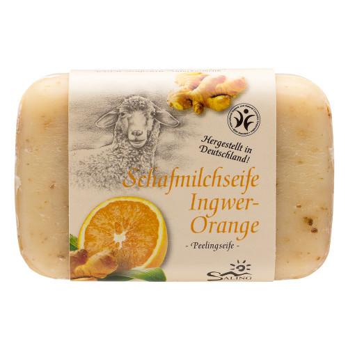 Săpun cremos cu lapte de oaie, ghimbir și portocale - exfoliant