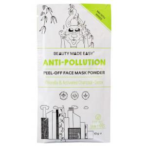 Mască facială peel-off anti-poluare