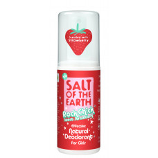 Deodorant natural Rock Chick Sweet Strawberry pentru fete - spray