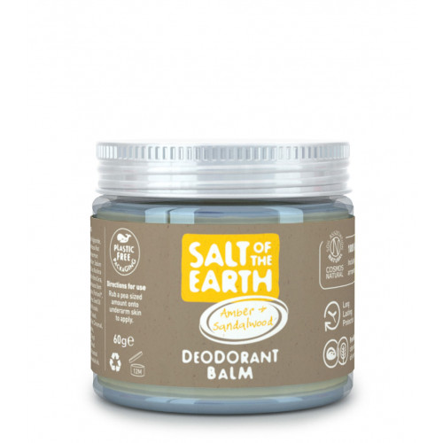 Deodorant natural balsam AMBER SANDALWOOD - borcănaș