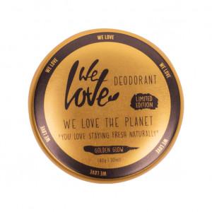 Deodorant natural cremă GOLDEN GLOW – ediție limitată
